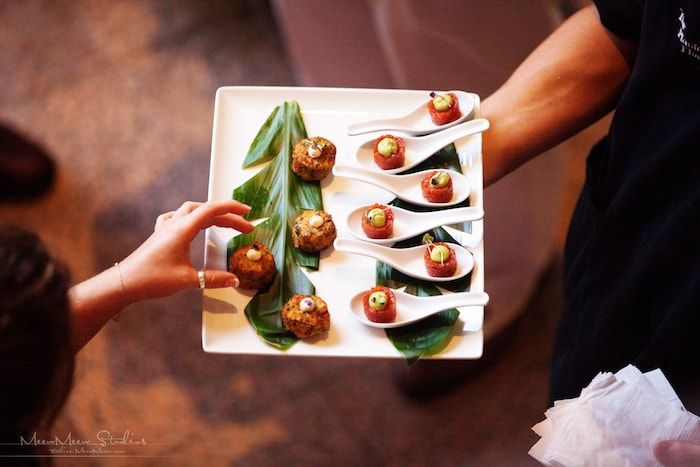 Tray Passed Hors d'oeuvres Thumbnail