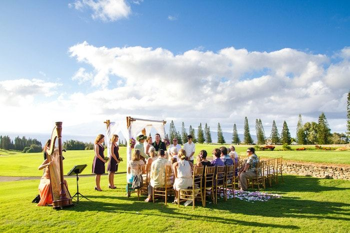Wedding Ceremony on Golf Course Thumbnail